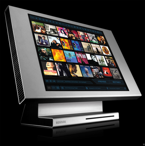 Sooloos ControlOne is  17-inch touch screen music server