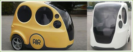 AirPod Vehicle Runs On Compressed Air