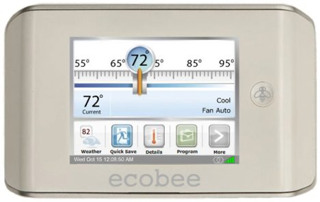Ecobee Smart Thermostat Saves Energy