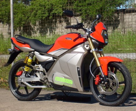 Electric GPR-S Motorbike Is Affordable