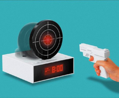 Gun O Clock Aims For Your Wakefulness