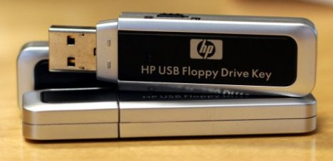 HP USB Floppy Drive Key