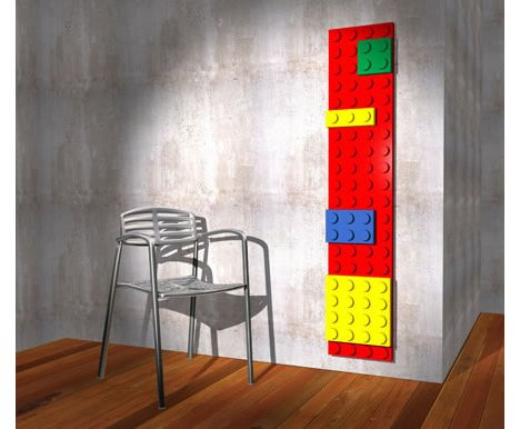 Lego Radiator Offers Brick Warmth In Living Room