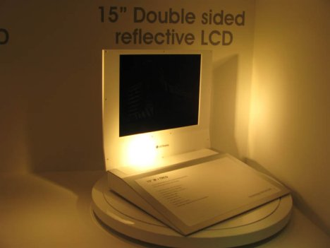 LG Double-sided Reflective Display