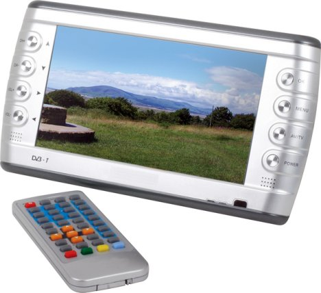 Maplin Unveils Portable LCD Color TV