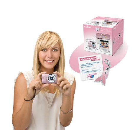 Canon And Maria Sharapova Launches Pink Campaign