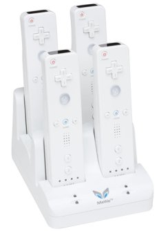 Quad Charger For Wiimotes