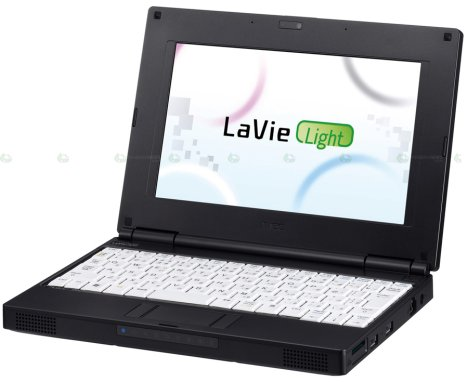 NEC Enters Netbook Game With LaVie Light