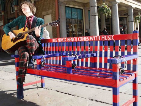 Nokia Musical Park Bench