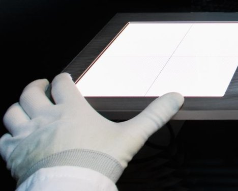 OLED Offers Touch Control Operation