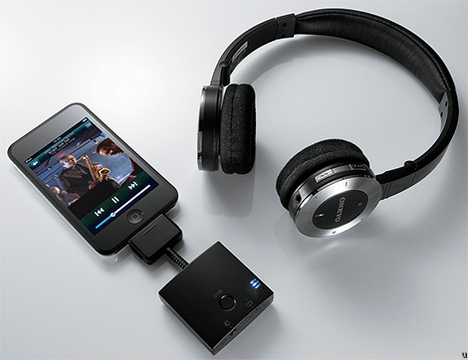 Onkyo MHP-UW2 iPod Wireless Headphones