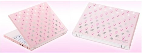 NEC Unveils Pink Hello Kitty Notebook
