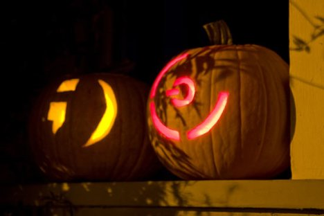 Red Ring Of Death Appears On Pumpkin