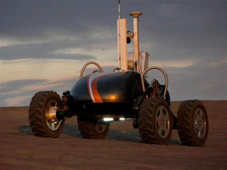 Scarab Robot To Work On The Moon