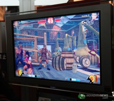 Street Fighter 4 At TGS 2008