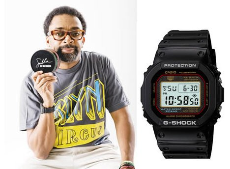 Montre Casio DW-5000SL Spike Lee Signature G-SHOCK