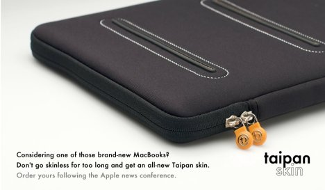 Booq Offers Taipan Skin For New Macbooks