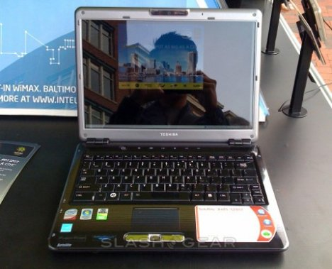 Toshiba Satellite U405 Takes The WiMAX Route