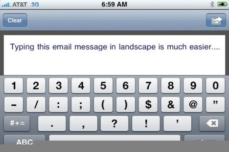 TouchType iPhone App Turns Things Around
