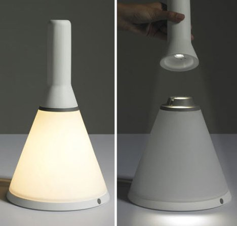 Two Lamps Design Is Smart