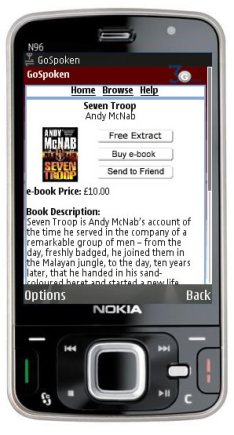 Vodafone Offers Books On Mobile Service