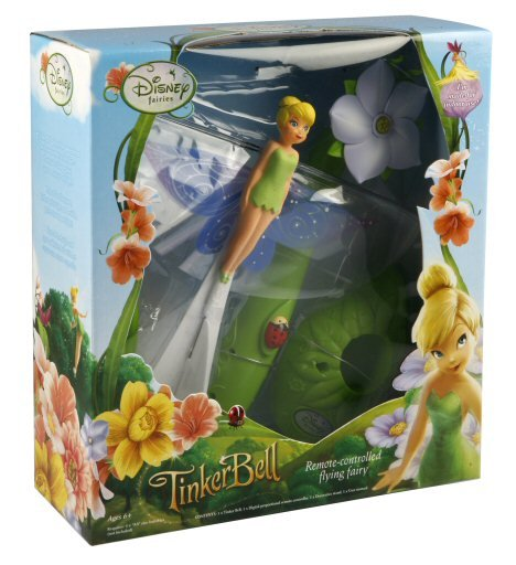 Tinker Bell Gets WowWee FlyTech Technology
