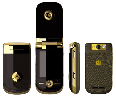 La version Cartier du Motorola A1600