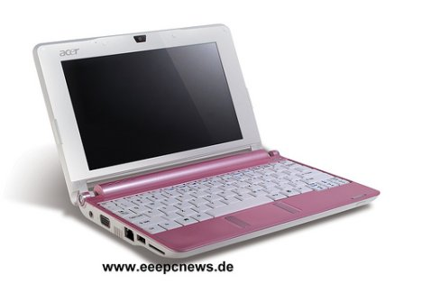 Acer Aspire One En Rose