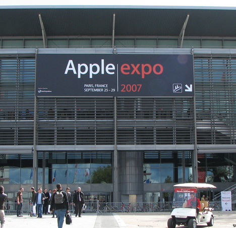 La Fin de L'Apple Expo à Paris