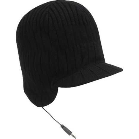 Bula Lex Earphone Hat Keeps Head Cool While Playing Music