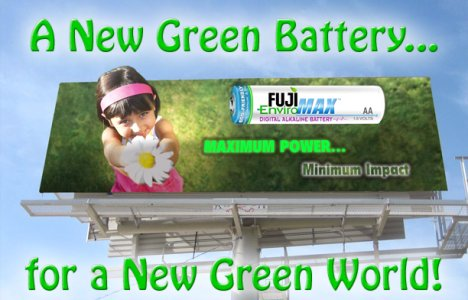 Fuji EnviroMAX Digital Alkaline Battery