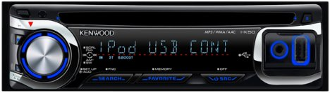 JVC I-K50 In-car CD Player