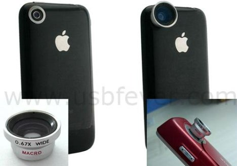 Camera Lenses For The iPhone
