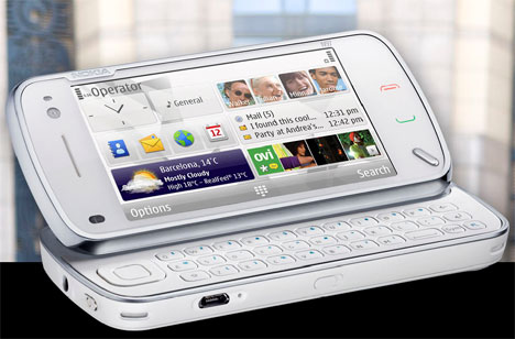 Nokia Introduces the N97 with a Touchscreen and a Full Keyboard