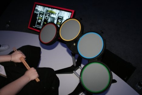 Rock Band Drum Kit Now Out