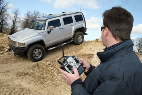 Remote Controlled Hummer H3