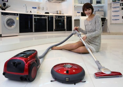 Samsung has 2 New Hoovers