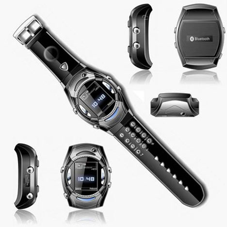 High-Tech : Van Der Led WM2 : la montre téléphone dans high-tech Van-Der-Led-WM2-Cellphone-Watch