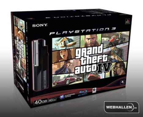 Pack PS3 GTA IV Pour L'Europe