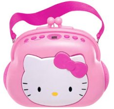 Lecteur CD Stéréo Hello Kitty Pocketbook
