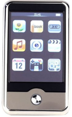 MP4 Player takes after iPhone