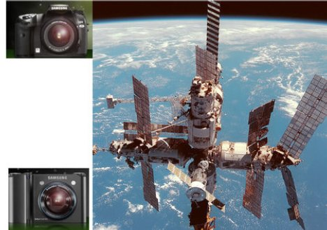 Samsung Camera Heads For Space