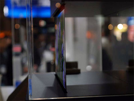Sony Demonstrates 0.3mm Thick OLED Display