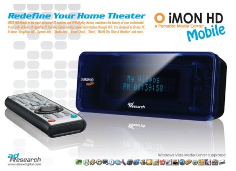 Media Center Portable iMON HD Mobile