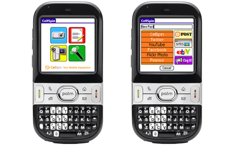 Cellspin Launches on Palm OS