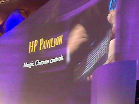 HP Connecting Your World Keynote - Live