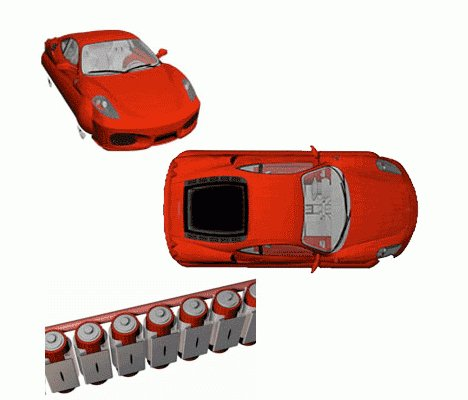 XP Vehicles Inflatable Cars