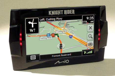 Mio Knight Rider GPS is Official