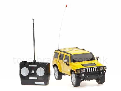 Rechargable Remote-Controlled Hummer
