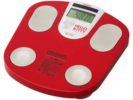 Hello Kitty Body Composition Meter